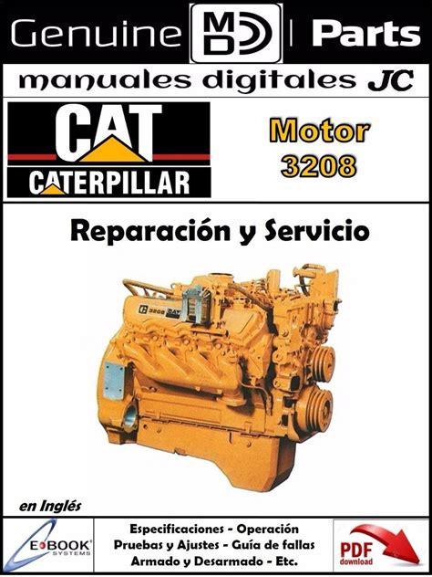 Manual De Reparacion De Motor Caterpillar 3208