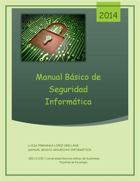 Manual De Seguridad Informatica