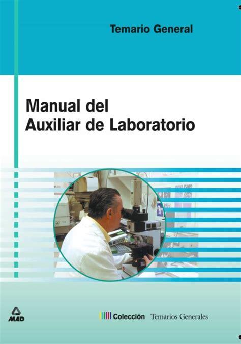 Manual Del Auxiliar De Laboratorio Temario