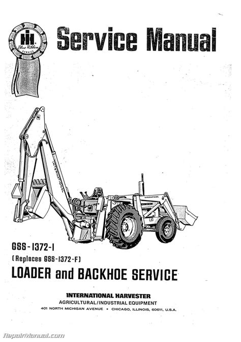 Manual For International 3444