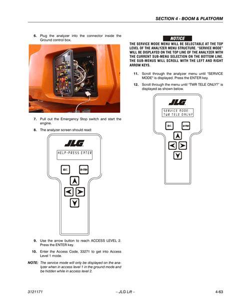 Manual For Jlg 1250ajp