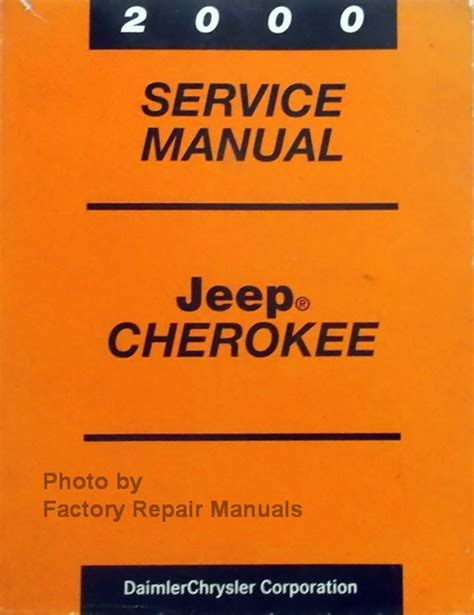 Manual Guide For Jeep Cherokee 2000