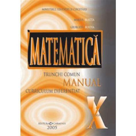 Manual Matematica Clasa 10 Editura Carminis Rezolvari