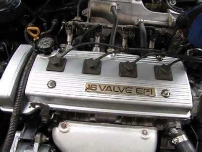 Manual Motor Toyota 4af