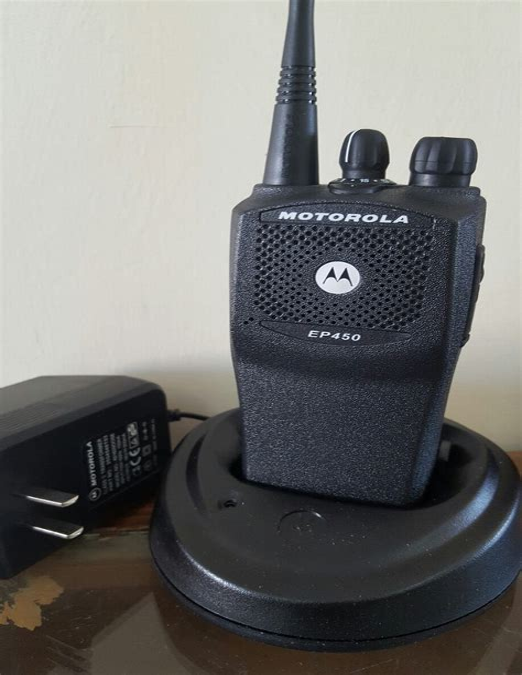 Manual Motorola Ep 450