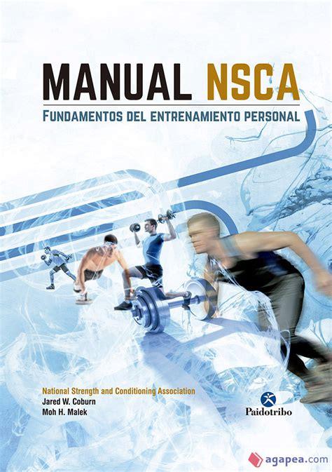Manual Ncsa Fundamentos Del Entrenamiento Personal Deportes