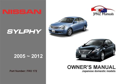 Manual Nissan Bluebird Sylphy 2018 Owner Manual
