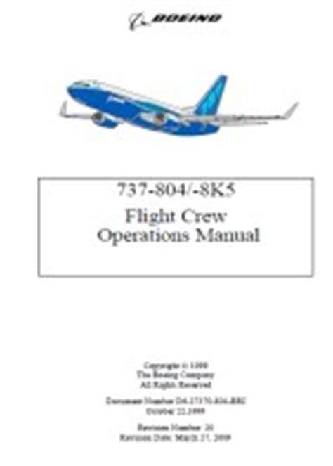 Manual Of B737800