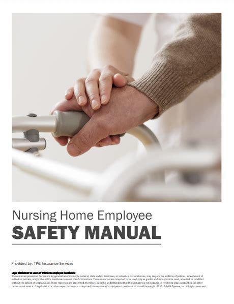 Manual On Nursing Home Maintenance