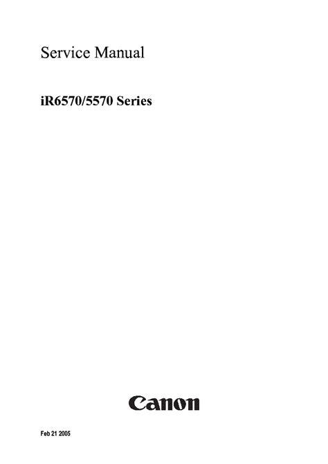 Manual Parts Ir 6570