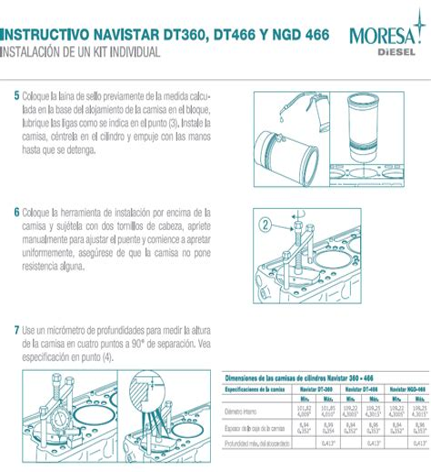 Manual Reparacion Motor International Dt360