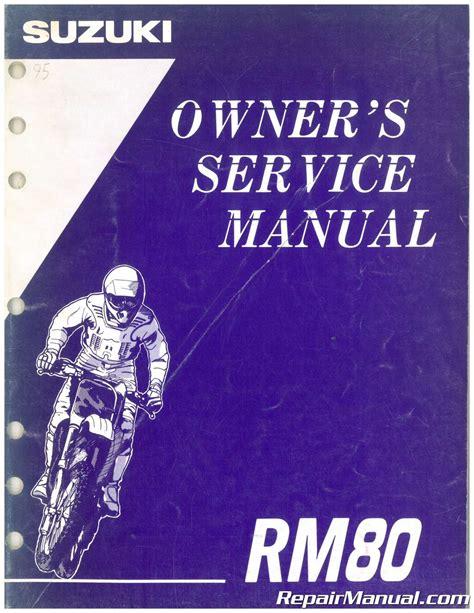 Manual Service Rm80