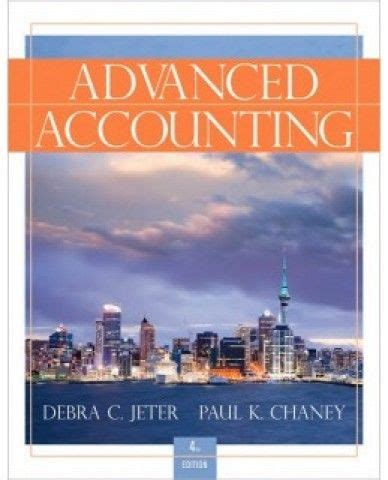 Manual Solution Advanced Accounting Debra C Jeter
