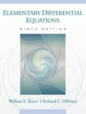 Manual Solution Differential Equations William Boyce 9th