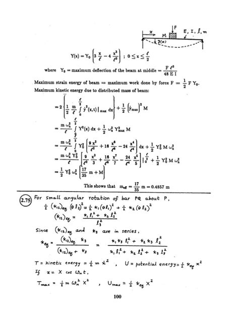 Manual Solution Mechanical Vibrations Rao 5th Edition