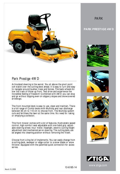 Manual Stiga Tractor 12 39