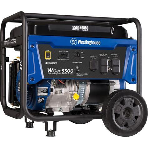Manual Transfer Switch 5500 Watt Generator