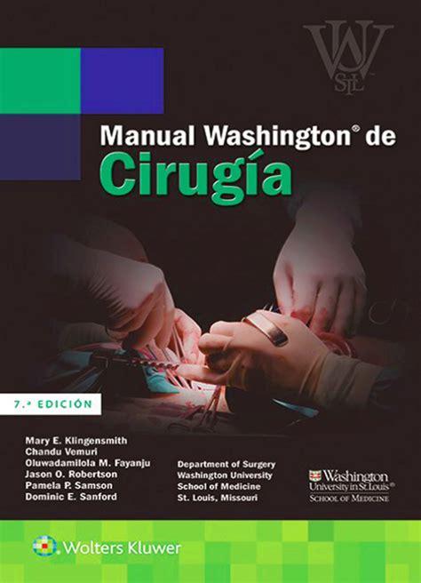 Manual Washington De Cirugia