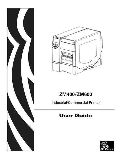 Manual Zebra Zm400
