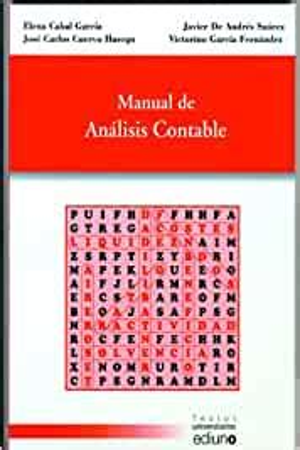Manual de análisis contable (Textos Universitarios)