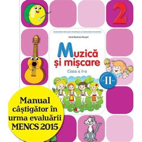 Manuale Digitale Clasa 2 Muzica Si Miscare