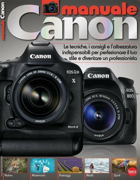 Manuale Fotografia Digitale Canon