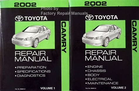 Manufacturer Service Manual For Toyota