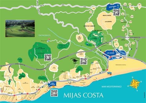 Mapa Fuengirola Mijas Mijas Costa