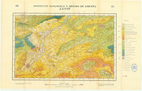 Mapa Geologico De Espana E 1 50 000 Hoja 375 Fuentelcesped Cartografia
