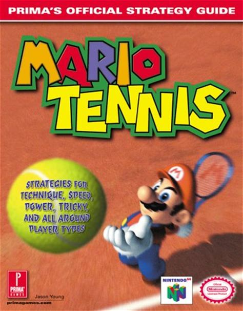 Mario Tennis Prima S Official Strategy Guide By Jason Young 2000 08 21