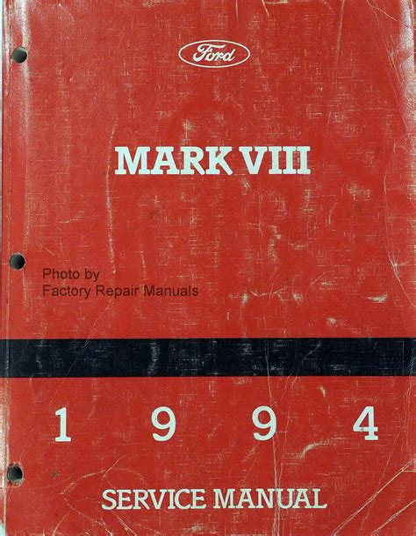 Mark Viii Manual