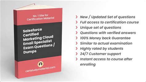 Marketing-Cloud-Email-Specialist PDF Demo