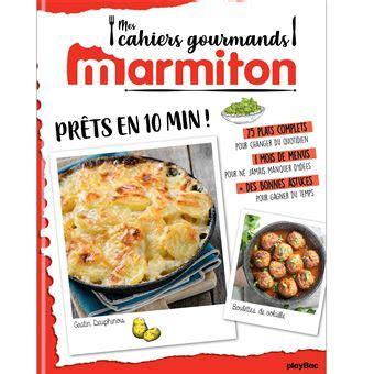 Marmiton Cahier Gourmand Pret En 10 Minutes