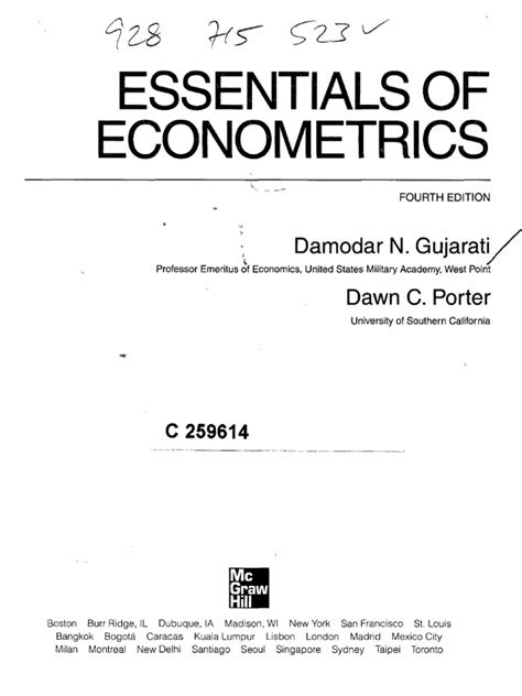 Marno Verbeek Solution Manual Econometrics