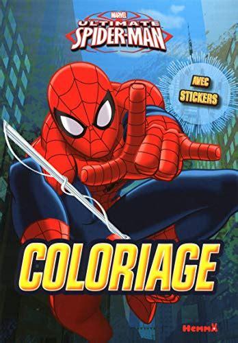 Lire Marvel Ultimate Spider Man Coloriage Avec Stickers Livres