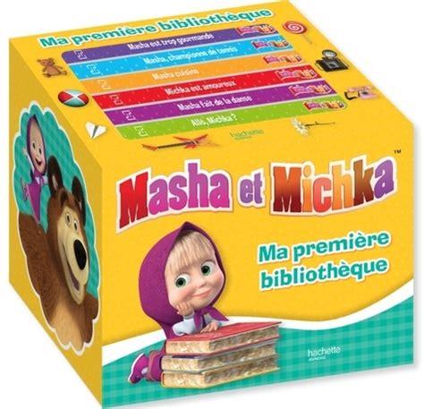 Masha Et Michka Ma Premiere Bibliotheque