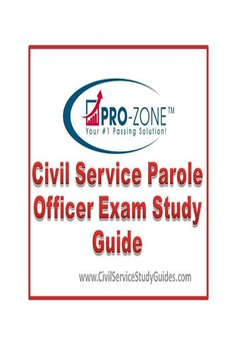 Massachusetts Probation Officer Study Guide For Exam