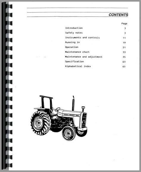 Massey Ferguson 178 0perators Manual