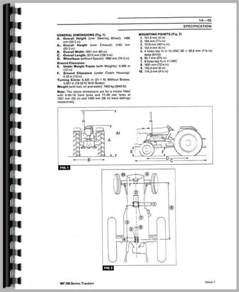 Massey Ferguson 240 Tractor Manual