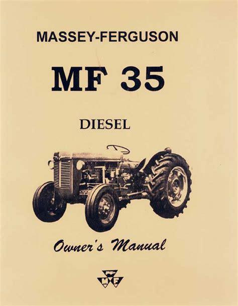Massey Ferguson 35 Manual