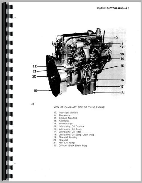 Massey Ferguson 375 Engine Service Manual