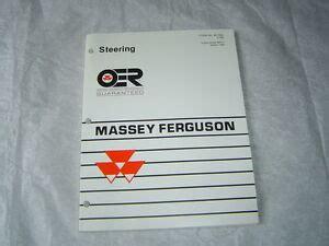 Massey Ferguson 4900 Tractor Parts Manual