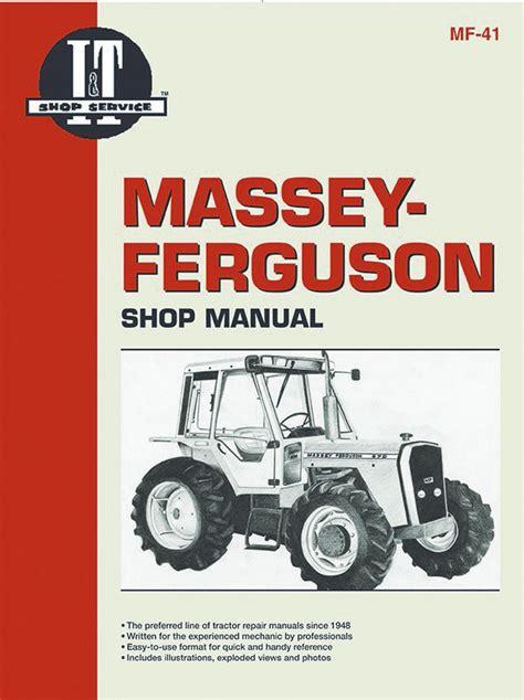 Massey Ferguson 690 Tractor Service Manual