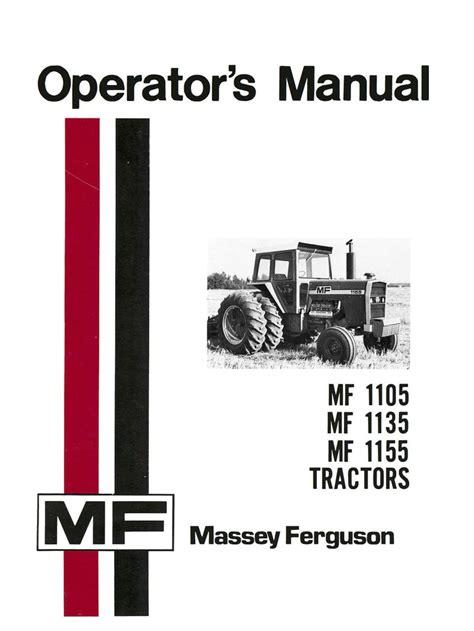 Massey Ferguson Manuals For 1105