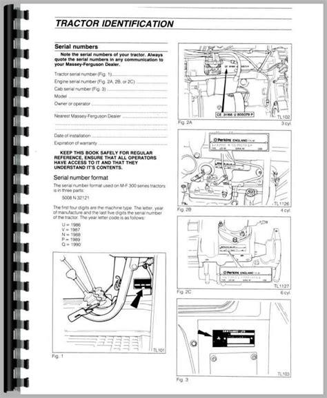 Massey Ferguson Mf 390 Diesel Operators Manual