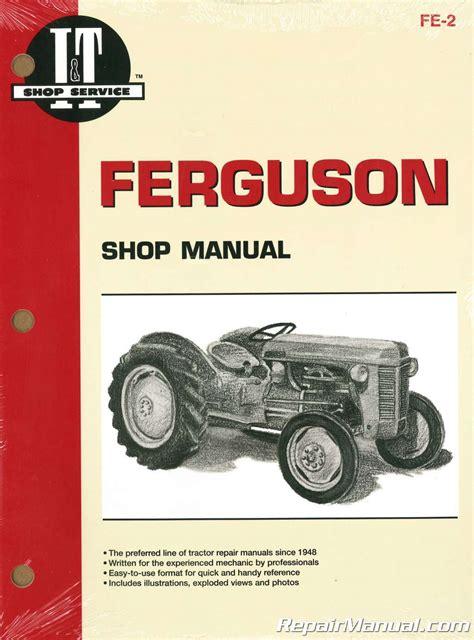 Massey To20 Service Manual