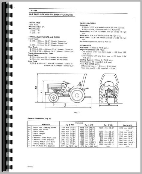 Massy Ferguson 1020 Service Manual