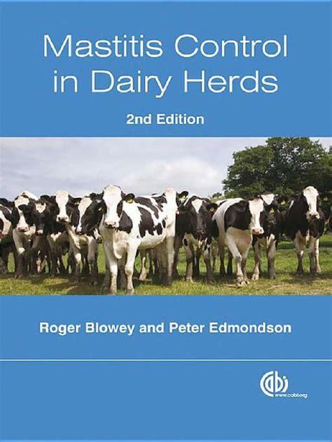 Mastitis Control in Dairy Herds (Cabi)