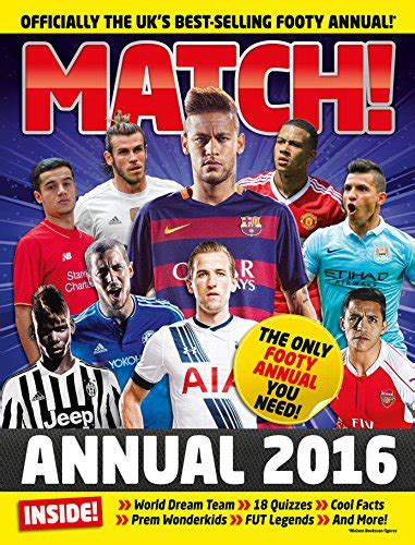 Match Annual 2016 From The Makers Of The Uk S Bestselling Football Magazine English Edition
