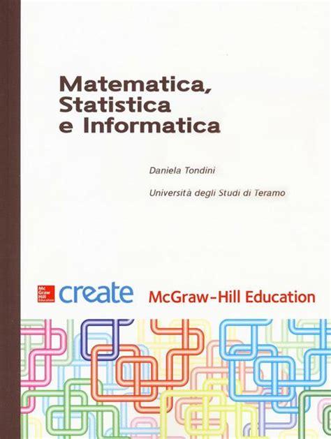 Matematica Statistica E Informatica